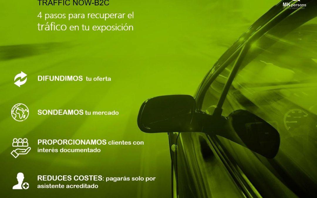 TRAFFIC NOW-B2C, el nuevo servicio de generación de oportunidades para concesionarios
