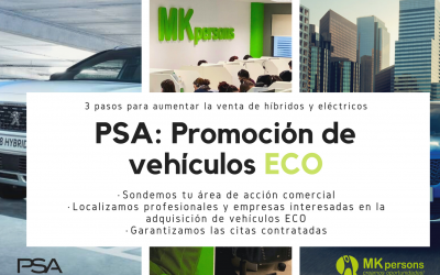 PSA: Campaña de promoción de vehículos ECO